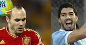 España vs. Uruguay en Vivo - Copa Confederaciones 2013