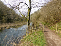 The River Dove at the bottom of Nabs Dale