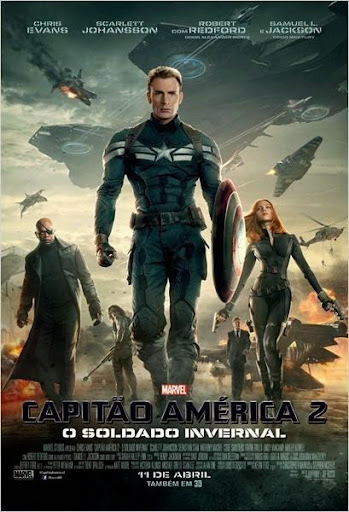 Download Capitão América 2   O Soldado Invernal – TS AVI Dual Áudio + RMVB Dublado
