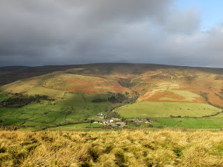 Moody Sky Over Edale