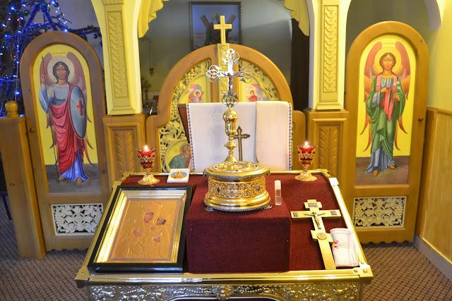 Мощи святого Валентина Одесса