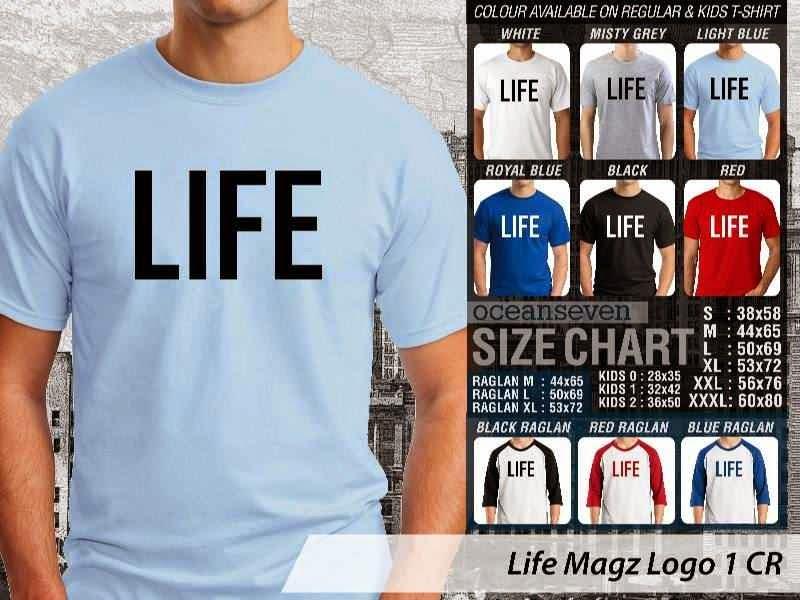 Kaos Magz Life Magz Logo 1 Majalah & Media distro ocean seven