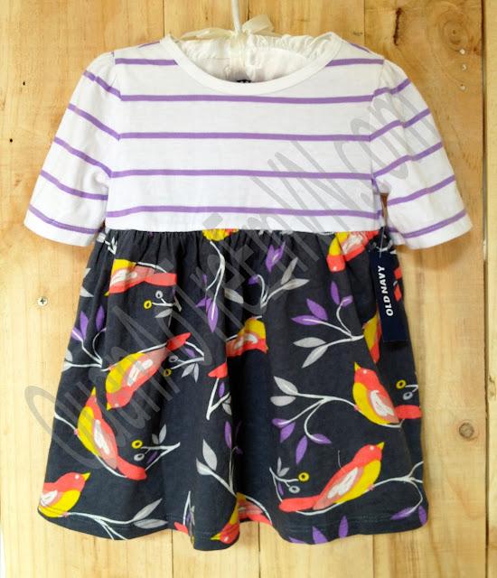 Đầm Oldnavy, hàng xuất xịn, made in cambodia, size từ 12-18M đến 5A, màu tím.a