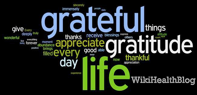 Health Tips: Cultivating an Attitude of gratitude