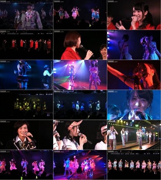 """(LIVE)(公演) AKB48 チーム4 """"アイドルの夜明け"""" 公演 140824"""