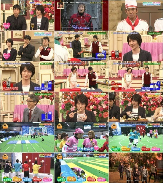 (TV-Variety)(720p) SMAP×SMAP西島秀俊と再会&スター大運動会障害物競走SP【クマムシ熱唱】  150427