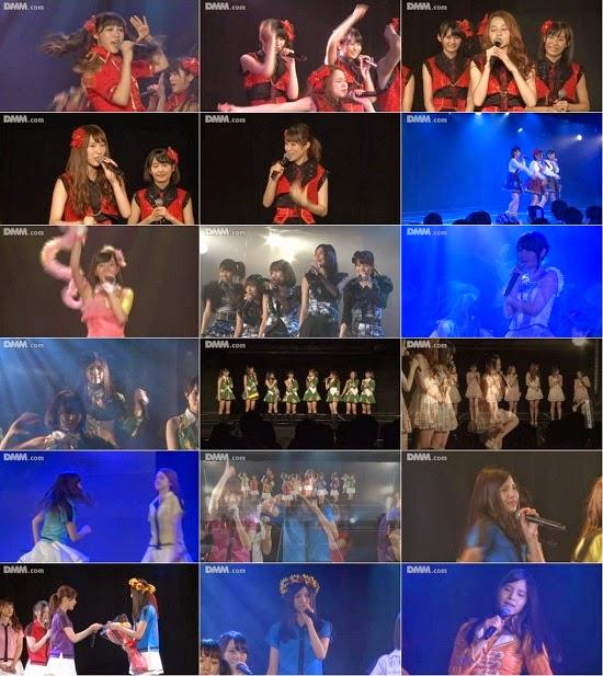 """(LIVE)(公演) SKE48 チームKII """"ラムネの飲み方"""" 水埜帆乃香の生誕祭 140908 & 140901"""