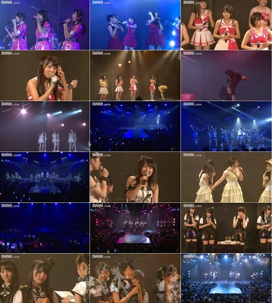 "(LIVE)(公演) HKT48 チームKIV ""シアターの女神"" 岡田栞奈の生誕祭 140914"
