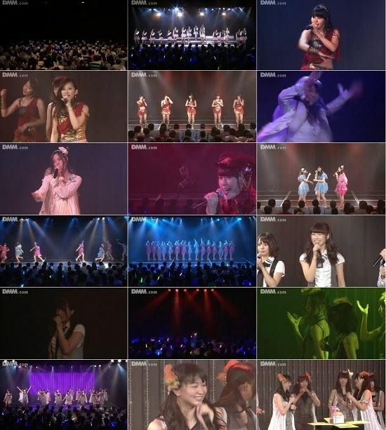 """(LIVE)(公演) NMB48 チームBII """"逆上がり"""" 黒川葉月の生誕祭 140823"""