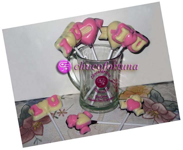 Coklat Lolipop I Love U