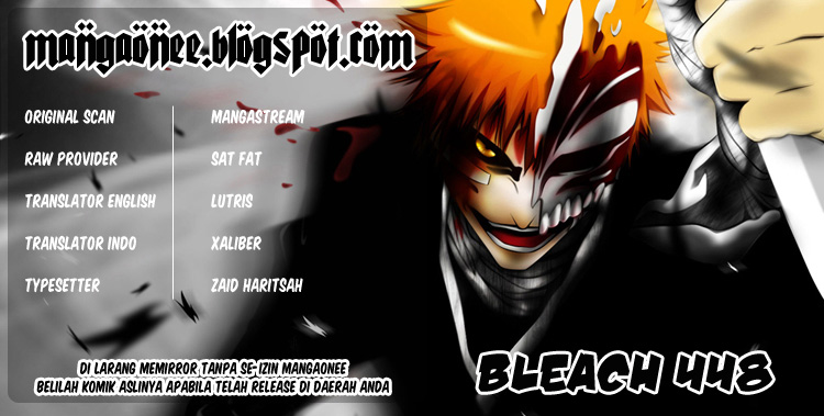 Baca Manga, Baca Komik, Bleach Chapter 448, Bleach 448 Bahasa Indonesia, Bleach 448 Online