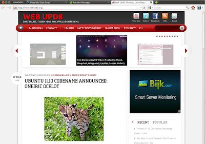 Firefox no titlebar buttons Ubuntu