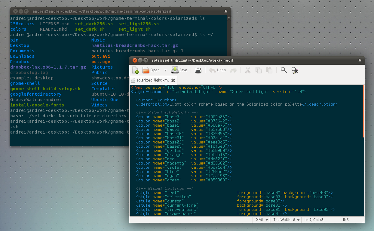 solarized a must have color scheme for gnome terminal vim gedit