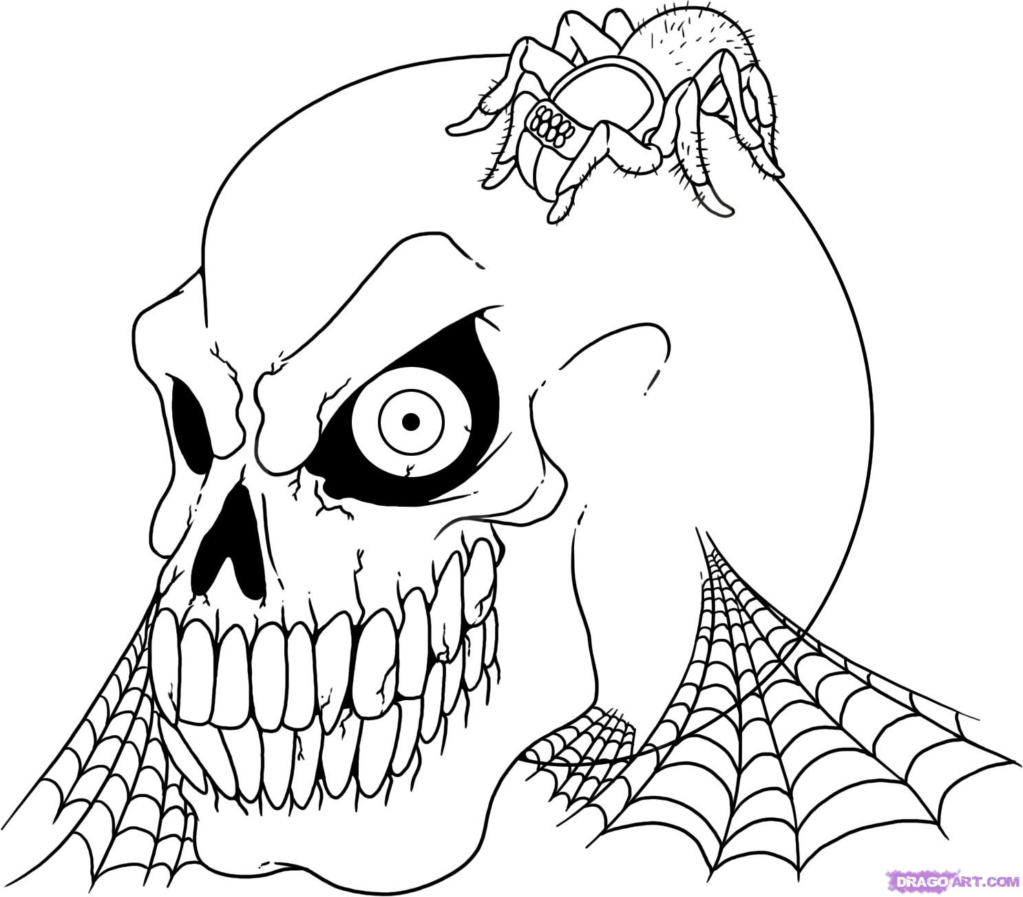 halloween coloring pages for kids printable free - Halloween Coloring Pages for Kids Free Coloring Pictures