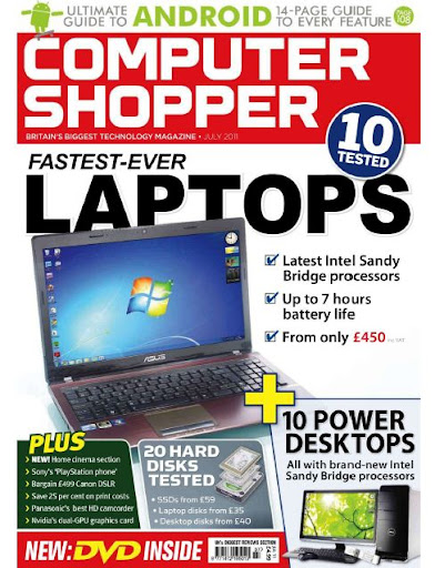 Computer Shopper Magazine Fastest Laptops