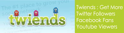 Twiends : Get More Twitter Followers, Facebook Fans & Youtube Viewers