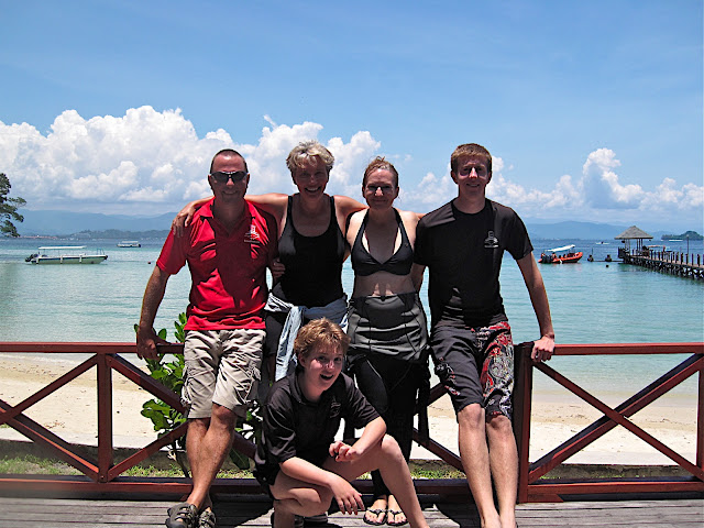 Actress Emma Thompson enjoys leisure diving with Borneo Dream