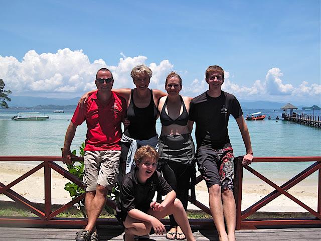 Actress Emma Thompson enjoys leisure diving with Borneo Dream