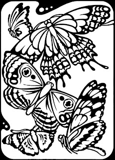 butterfly coloring pages for kids - Top 25 Free Printable Butterfly Coloring Pages Online