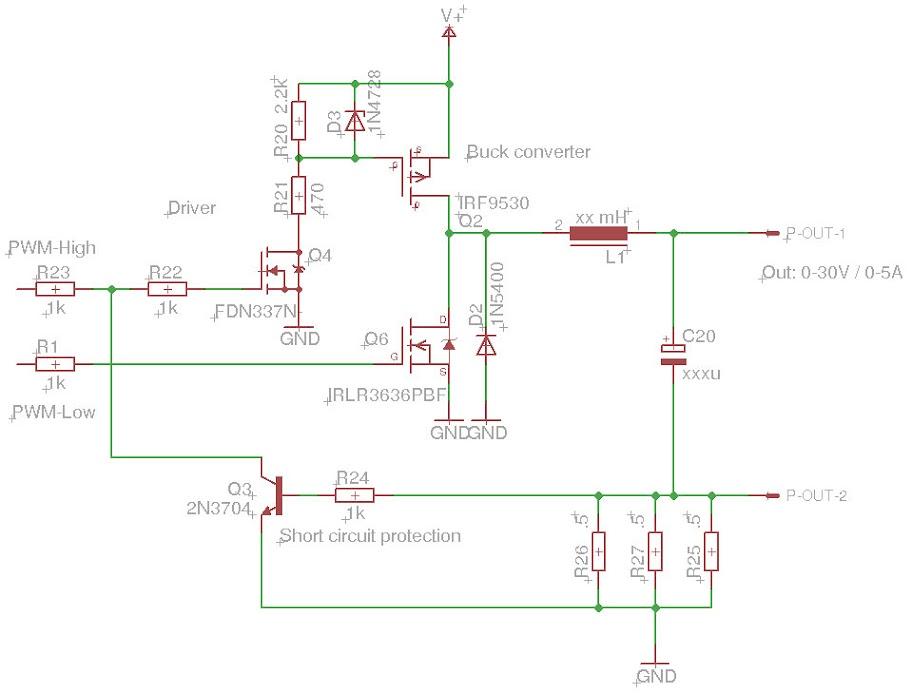 Variable Output Buck Converter | AVR Freaks