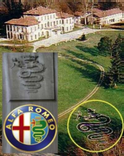 Menschenfresserschlange in Berlusconis Garten