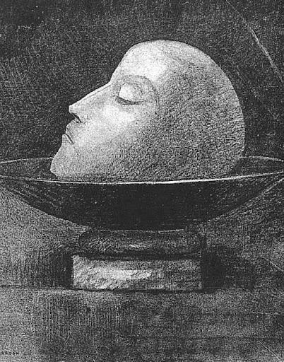 ODILON REDON KOPF EINES MAERTYRERS 1877.JPG (JPEG-Grafik, 402x512 Pixel) - Skaliert (96%)