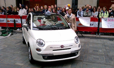 Fiat 500C Launch with Laura Soave
