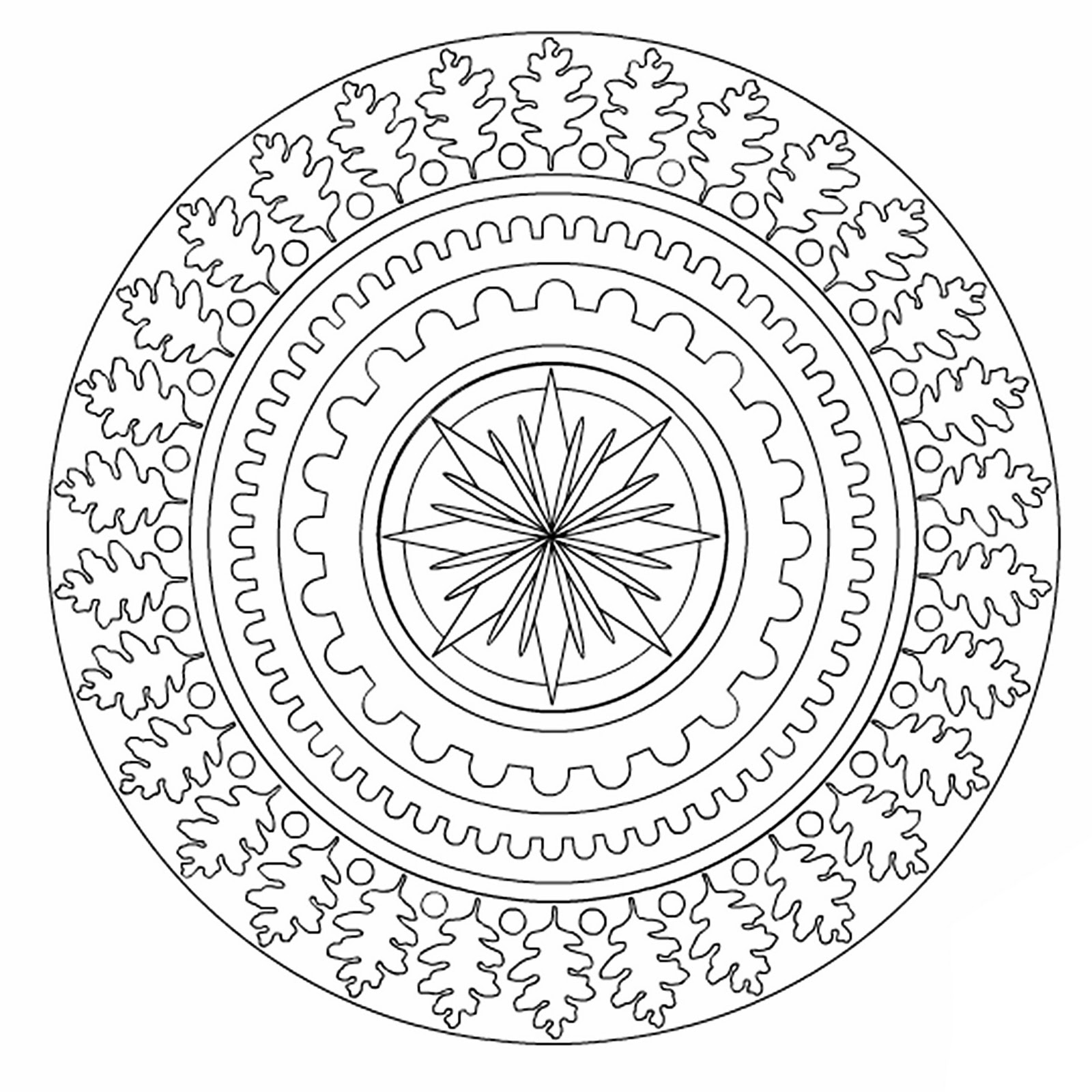 Dover Publications Mystic Mandalas 3-D Coloring Book