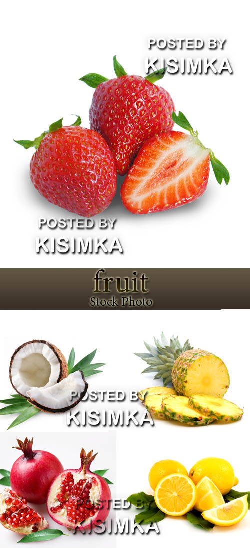 Stock Photo: Exotic Fruits 3