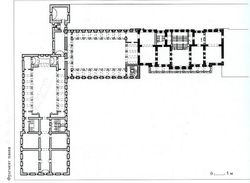 План 2-го этажа, фрагмент.