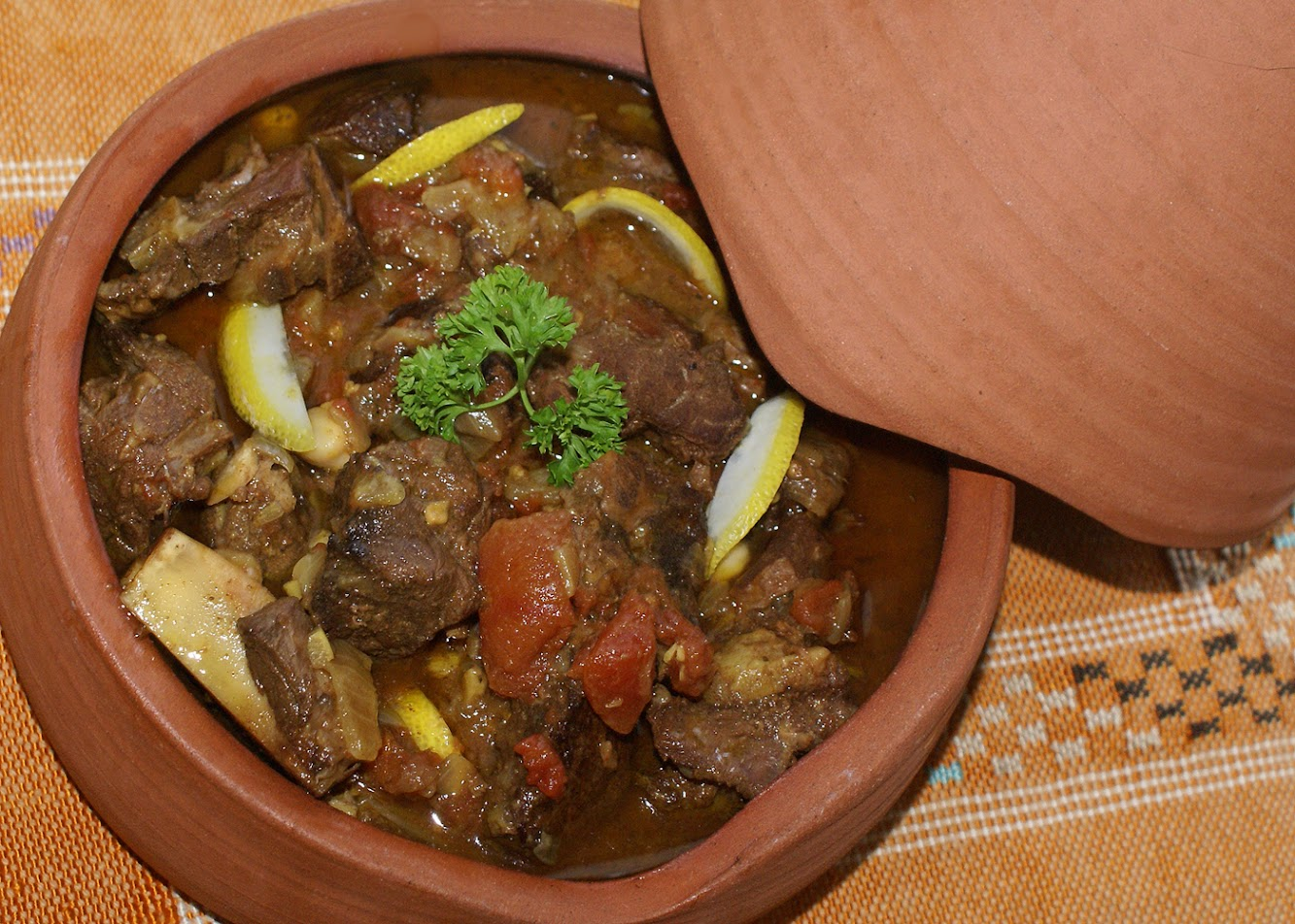 Moroccan Dinner Party: Lamb Tanjine