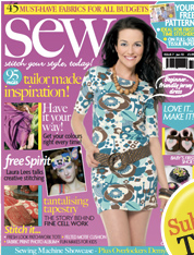 We're in Sew Magazine!