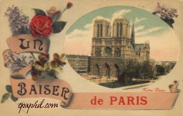 816 Notre Dame Vintage Postcards - Crown of Thorns History