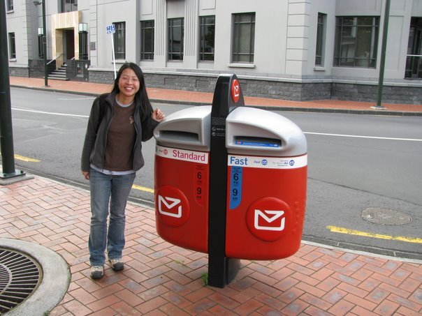 Postcard Friendship Friday - New Zealand Letterbox