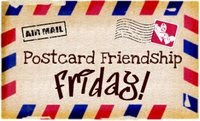 Postcard Friendship Friday - Violet Lifesavers