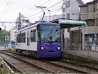 都電荒川線8800形車両/紫色(バイオレット色)