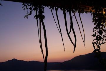 Fidanka'dan Akşam Üstü Manzarası