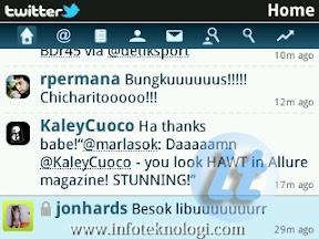 Screenshot di Blackberry Curve 9300