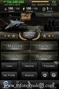 Screenshot game World War