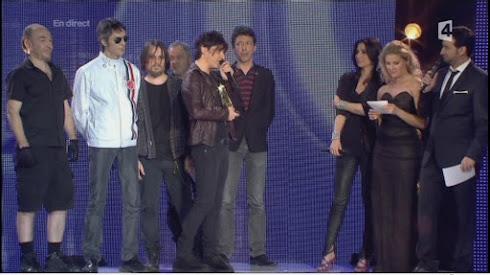 Indochine: Victoire de la Musique 2011 - La Victoire d'Honneur