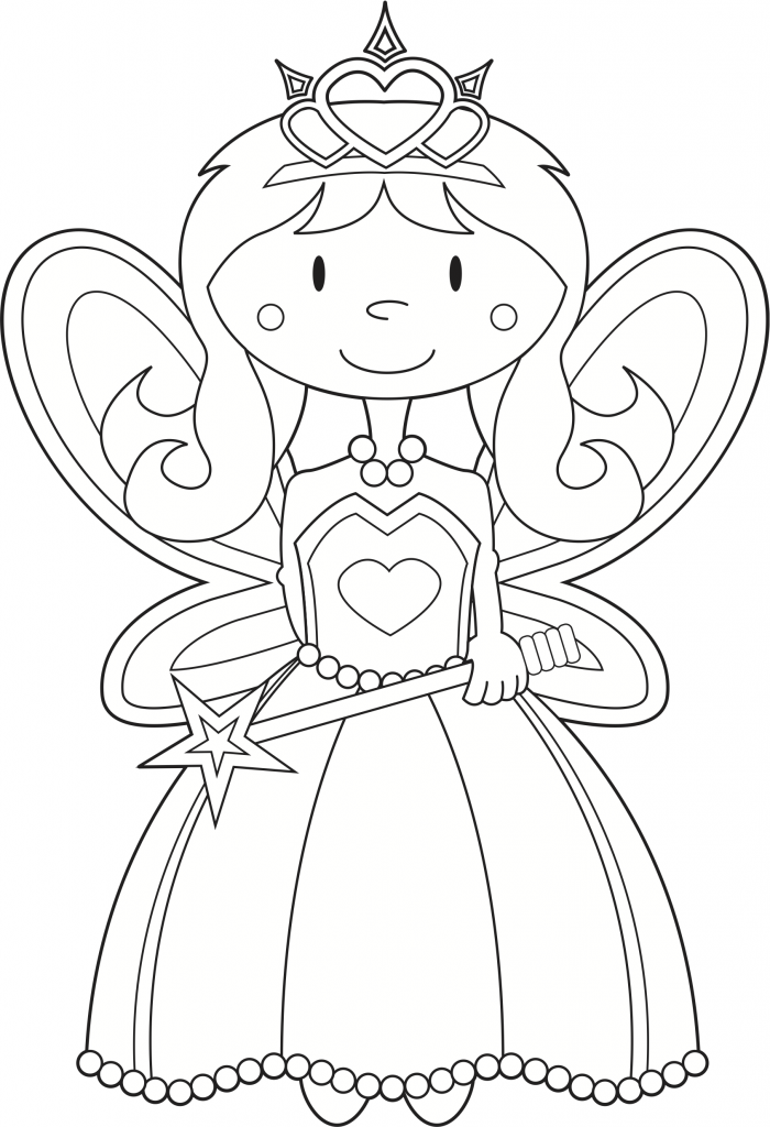 Fairy Colouring Pages Kids Colouring Fairies Kidspot - coloring pages of fairies