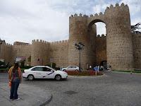 Las murallas tienen entradas en todas las direcciones, ésta en la zona oeste