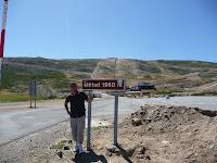 En los casi 2000 metros de altura se encuentra una estación de esquí