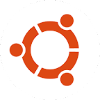 Ubuntu Circle of Friends Logo (Orange on White)