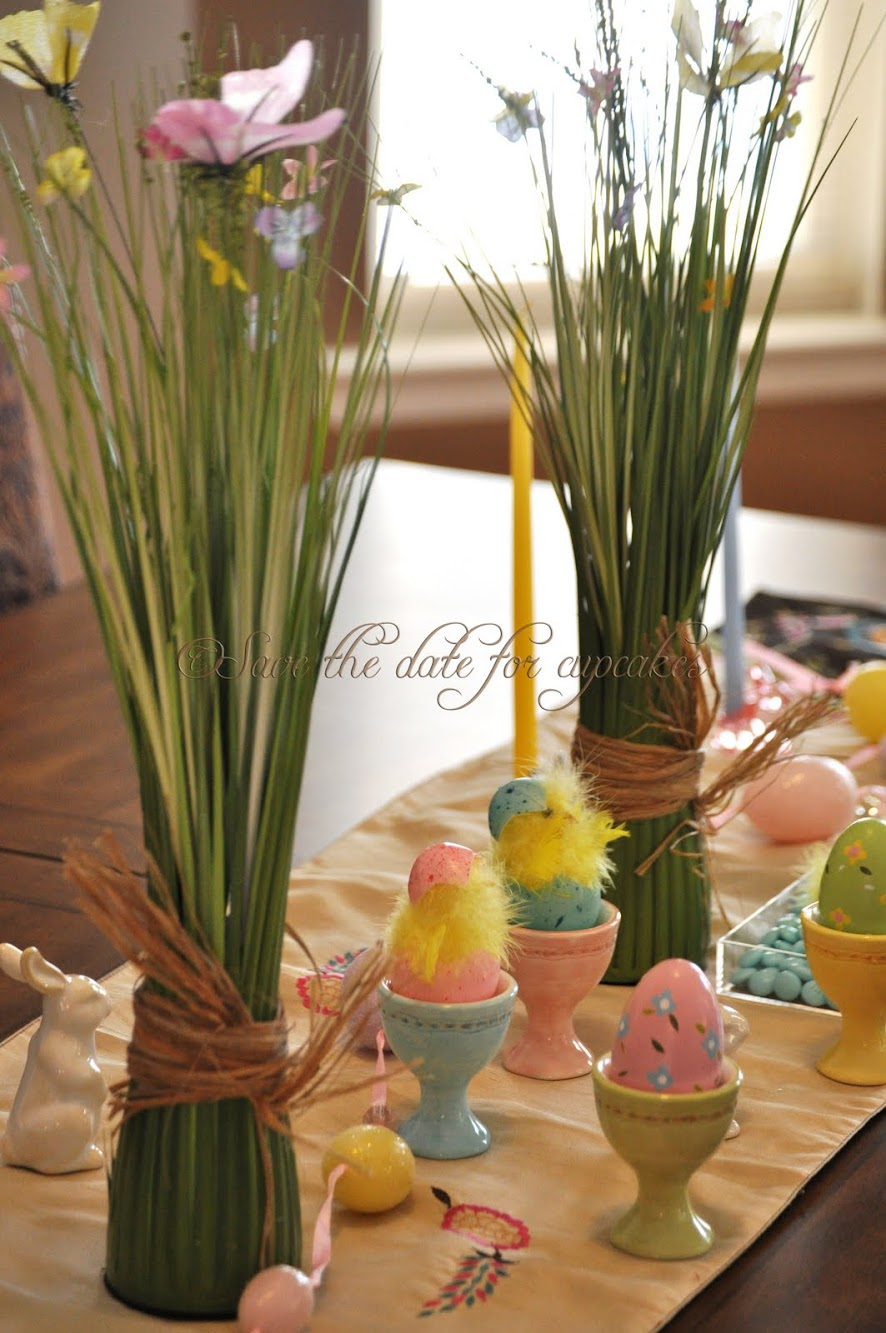 Easter Tablescape