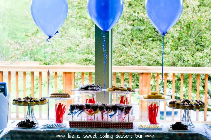 Sweet Sailing Dessert Table