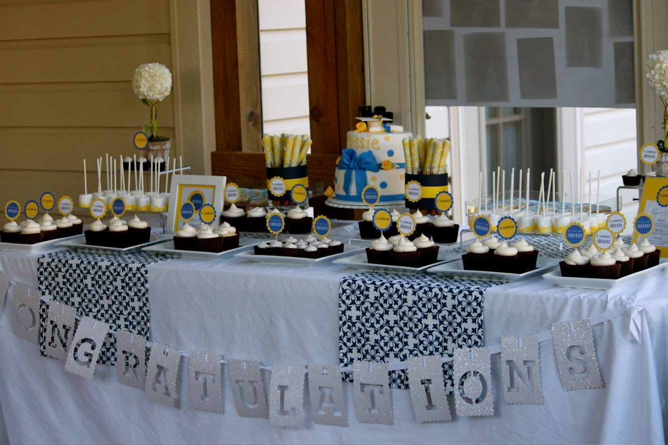 Graduation Dessert Table