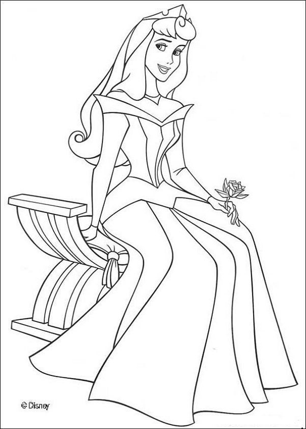 princess coloring pages printable free - Kids-n-fun 33 coloring pages of Disney Princesses