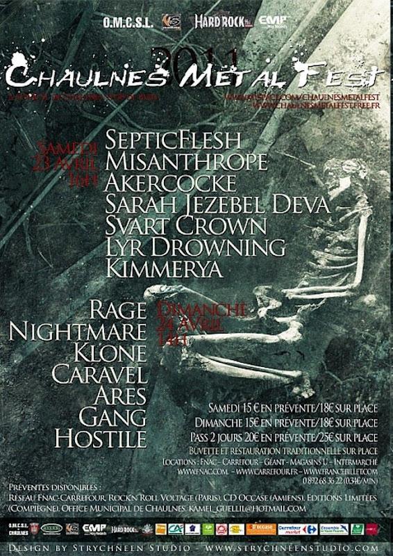 Chaulnes Metal Fest 23/04/2011