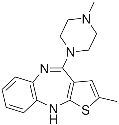 Structure Of Olanzapine